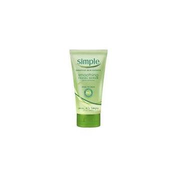 Simple Sensitive Skin Smoothing Facial Scrub, Gently Exfoliates