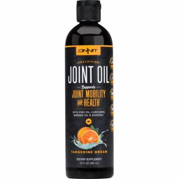 Onnit Joint Oil (Tangerine) | Joint-Friendly Blend of Fish Oil, Borage Oil, Avocado, and Turmeric | No Fishy Taste (12 Fl Oz)