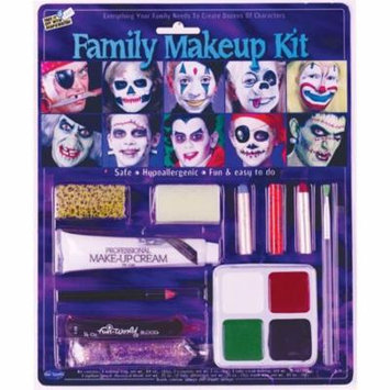 Morris Costumes Adult Unisex Entire Family Halloween Makeup Kit, Style FW9432