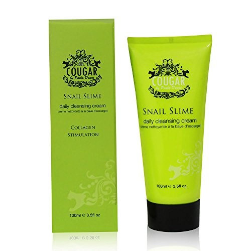 Cougar By Paula Snail Slime Daily Cleansing Cream Collagen Stimulation 100ml