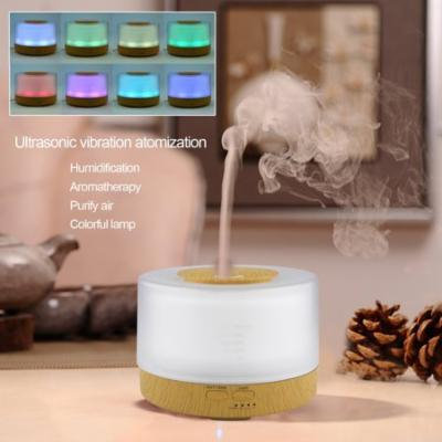 Popular Home Office Healthy Diffuser Humidifier Essential Oil Ultrasonic Aroma Air Cleaner Aromatherapy LED Purifier
