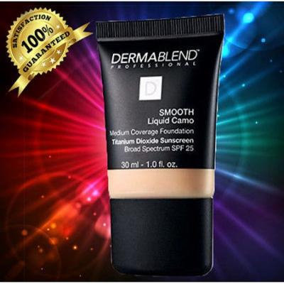 Dermablend Smooth Liquid Camo CHAI NEW IN BOX 30ML_1 OZ. marked_TESTER_ SEALED-03