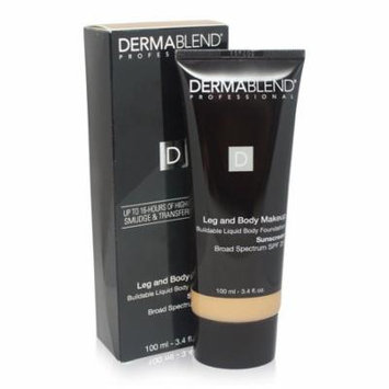 Dermablend Leg and Body SPF 25 LIGHT SAND FORMERLY NATURAL 3.4 oz SEALED