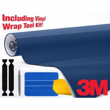 3M Gloss Deep Blue 1080 Air-Release Vinyl Wrap Roll - Including Toolkit – Choose Your Size