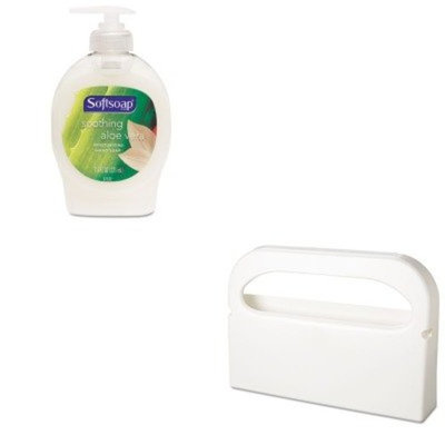 KITCPM26012EAHOSHG12 - Value Kit - Health Gards Toilet Seat Cover Dispenser (HOSHG12) and Softsoap Moisturizing Hand Soap w/Aloe (CPM26012EA)