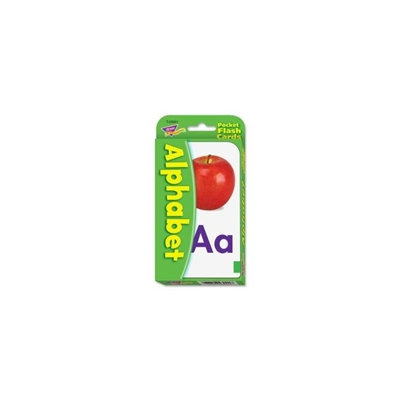 T23001 - Trend Pocket Flash Card - Theme/Subject: Learning - Skill Learning: Alphabet - 56 Pieces
