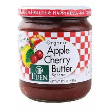 Eden Foods Organic Apple Cherry Butter Spread -- 17 oz - 2 pc
