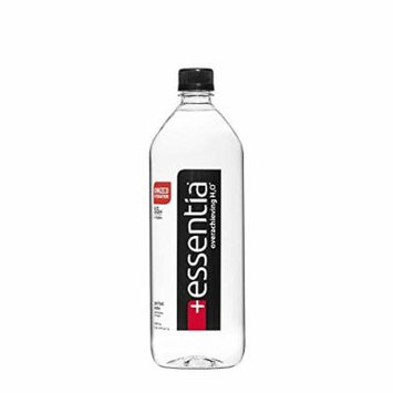 Essentia Ionized Alkaline 9.5 pH Bottled Water, 1 Liter, 12 Count - Pack of 6
