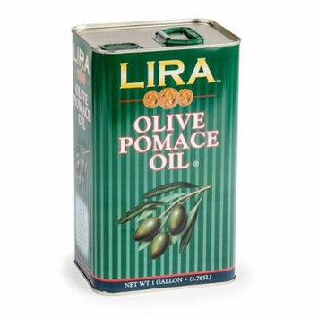 Lira Imported Pomace Olive Oil 1 Gal, Pack of 6