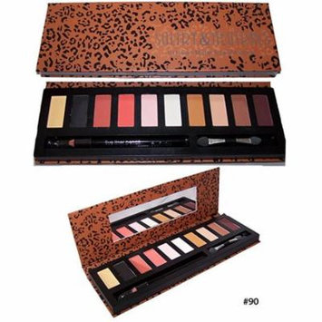 Quality Cosmetics 10 Color Makeup Eye Shadow Palette Matte Shimmer Eye shadow (Cos6862 ZZ)