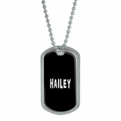 Hailey Dog Tag