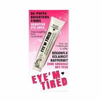Hard Candy Eye'm Tired, Lightweight Depuffing Eye Serum. 0.59 Oz + Schick Slim Twin ST for Sensitive Skin