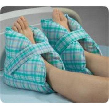 Posey Heel Pillows, Pastel Plaid - 1/Pair