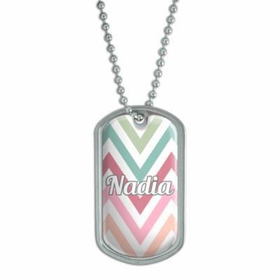 Female Names - Nadia - Dog Tag