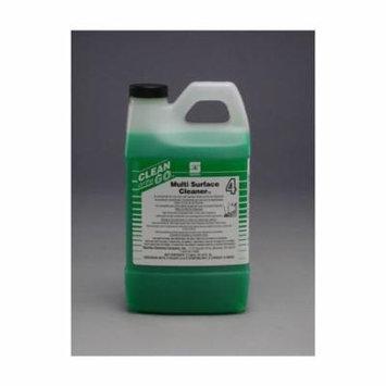Spartan Clean on the Go 4 Multi-Surface Cleaner, 2 Liter Bottle, 4 Bottles Per Case