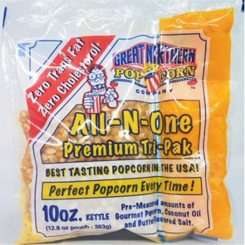 Great Northern Popcorn Premium 10 Ounce Popcorn Portion Packs Cinema, Case of 24