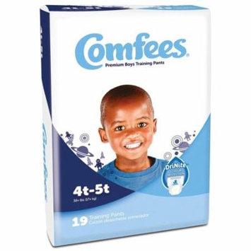Comfees Premium Training Pants, Boys 4T-5T (38+ Lbs) - Case of 114