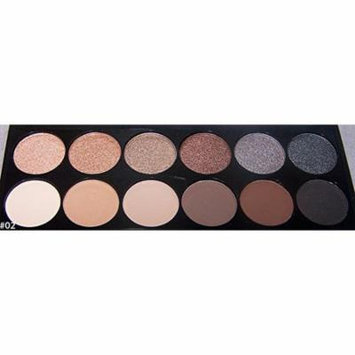 Quality Cosmetics 12 Colors Makeup Eye Shadow Matte Shimmer Eye shadow Palette (CosES3 ZZ)