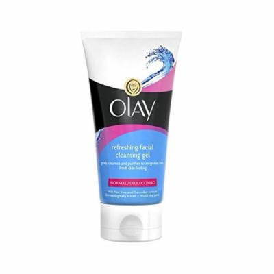 Olay Gentle Cleanser Refreshing Facewash 150 Ml + Schick Slim Twin ST for Sensitive Skin