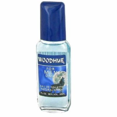 Fragrances of France Woodhue Eau de Toilette Spray for Men, 1 Oz + Schick Slim Twin ST for Dry Skin