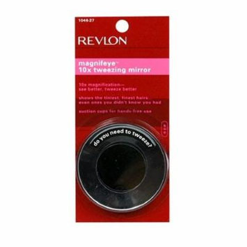 Revlon Magnifeye 10x Tweezing Mirror + Schick Slim Twin ST for Sensitive Skin