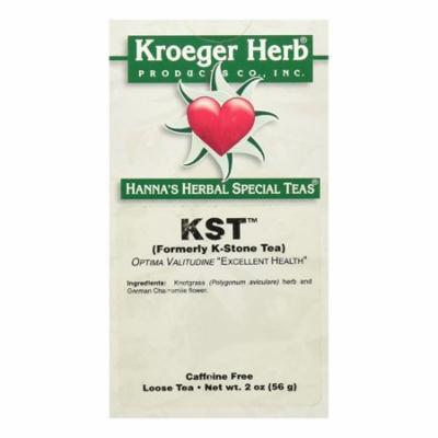 Kroeger Herb KST Formerly K-Stone Herbal Tea For Kidney Stones, 2 Oz