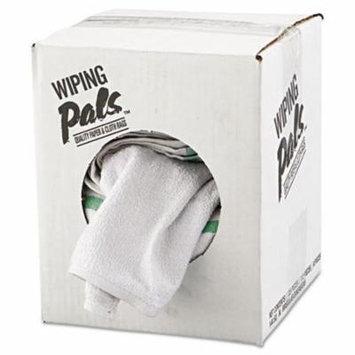 Hospital Specialty Co. 536605DZBX Counter Cloth/Bar Mop, Assorted Colors, Cotton, 12/Bag, 5 Bags/Carton