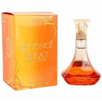Beyonce Heat Rush by Beyonce, Eau De Toilette Spray, 3.4 Oz + Schick Slim Twin ST for Dry Skin