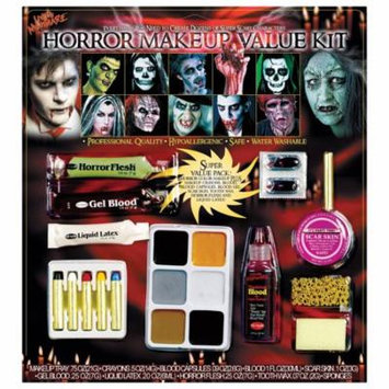 Morris Costumes Blood Gel Sponge Flesh Crayons Horror Family Makeup Kit, Style FW9543H