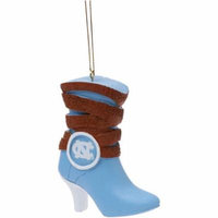 North Carolina Tar Heels Team Boot Ornament