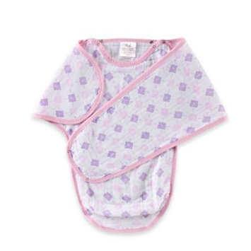 aden® by aden + anais® Muslin Easy Swaddle™ in Pink Maze