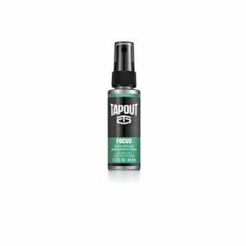 Tapout Focus Body Spray for Men, 1.5 fl oz