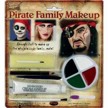 Morris Costumes Unisex Pirate Family Makeup Kit, Style FW9475P