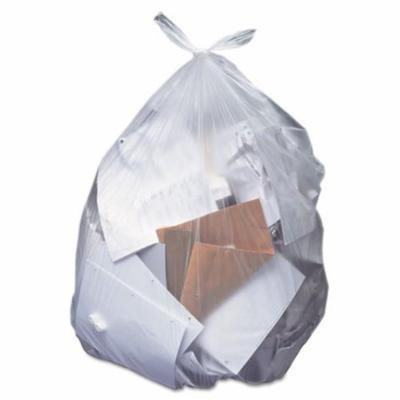 Her H8046AC Low-Density Can Liners, 40-45 gal, 1.5mil, 40 x 46, Clear, 100/Carton
