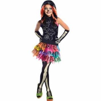 Morris Costumes Girls Monster High Skelita Calaveras Child Large, Style RU886700LG