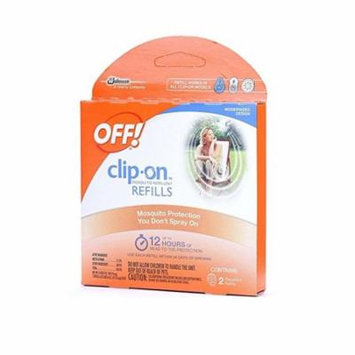 OFF! Clip On Insect Repellant Refill, 2ct + Schick Slim Twin ST for Sensitive Skin