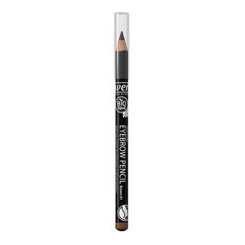 Lavera Ultra-Soft Eyebrow Pencil (Brown) - Long-Lasting Define, Fuller, Natural-Looking Brows, Easy to Sharpen, Organic, Vegan