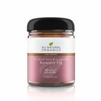 Au Natural Organics Barbary Fig Oil Face & Body Scrub 9 Oz 266 Ml