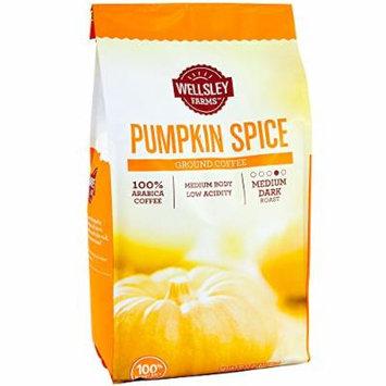 Pumpkin Spice Ground Coffee , 100% Arabica Medium Dark Roast Low Acidity , 2 Pounds (32 Oz) , Rich Creamy Flavors Of Cinnamon & Pumpkin Pie (Pumpkin Spices)