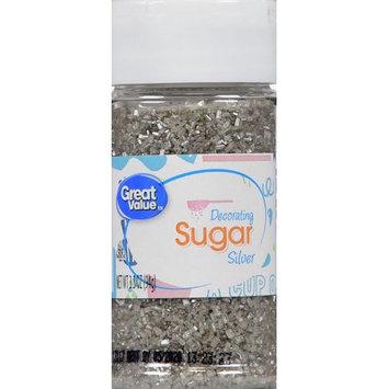 Wal-mart Stores, Inc. Great Value Silver Decorating Sugar, 3.3 oz