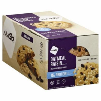 NuGo Nutrition NuGo Protein Cookie, 12 ea