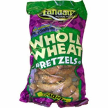 Landau Kosher Whole Wheat Pretzels- Sesame Salted - 8 Oz.