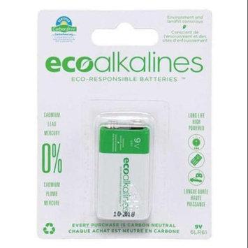 Eco Alkaline 9V Batteries,, ECO9V1