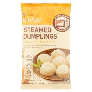 Bibigo BCA43656 Steamed Chicken Vegetable Dumplings 9 x 6 oz