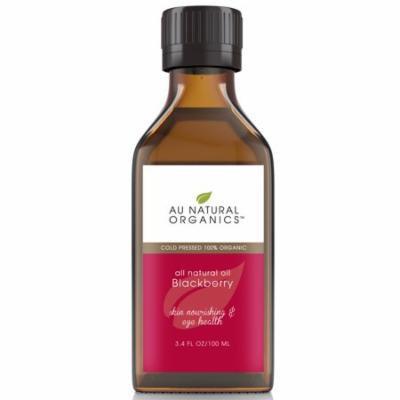 Au Natural Organics Blackberry Seed Oil 3.4 Oz