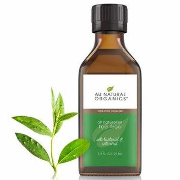 Au Natural Organics Tea Tree Oil 3.4 Oz 100 Ml
