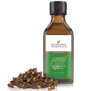 Au Natural Organics Clove Bud Oil Organic 3.4 oz 100 ml