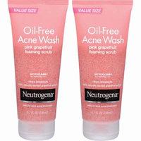 Neutrogena Oil-Free Acne Wash Pink Grapefruit Foaming Scrub, 2 pk./6.7 fl. oz.