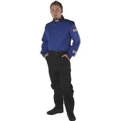 G-FORCE Blue 2X-LG Multiple Layer GF525 Driving Suit P/N 4525XXLBU
