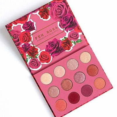 ColourPop - Fem Rosa Karrueche - Pressed Powder Shadow Palette - She